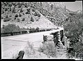 Highway Bridge over North Fork of Virgin River. Zion Canyon - Mt Carmel highway junction. ; ZION Museum and Archives Image 002 (41378d80e447419ab5c052cad6c46b58).jpg