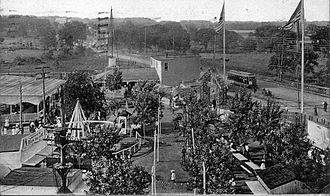 Belleville, New Jersey - Hillside Pleasure Park in Belleville, c. 1905