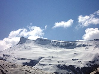 Rohtang Pass - Image: Himalayas from Rohtang Pass