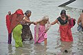 Hindu Devotees Taking Holy Dip In Ganga - Makar Sankranti Observance - Kolkata 2018-01-14 6606.JPG