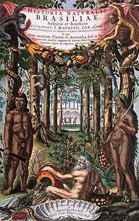 Capa de Historia naturalis brasilieae
