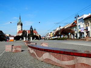 Prešov - City centre of Prešov