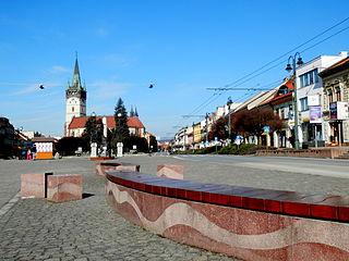 Prešov City in Slovakia