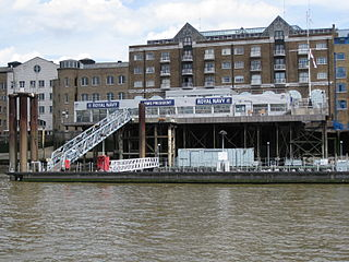 HMS <i>President</i> (shore establishment) Shore establishment of the Royal Naval Reserve in the London Borough of Tower Hamlets
