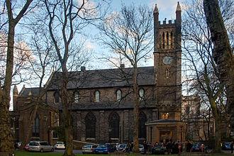 Thomas Leverton Donaldson - The church of Holy Trinity, Brompton