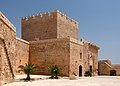 Homage Tower from courtyard, Alcazaba, Almeria, Spain.jpg