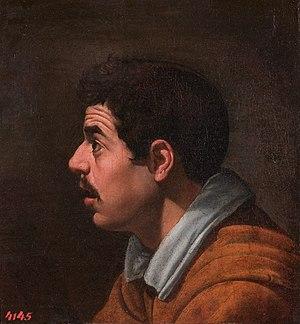Hombre de perfil, by Diego Velázquez.jpg