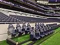 Home team dugout at Tottenham Hotspur Stadium.jpg