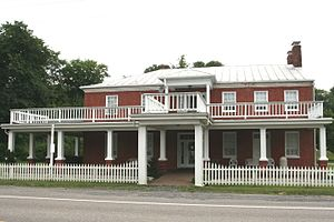 Burlington, West Virginia - The Homestead, built c. 1831
