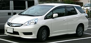 Honda Fit Shuttle - Image: Honda Fit Shuttle Hybrid