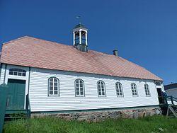 Hopedale Moravian Church, NL, exterior.JPG