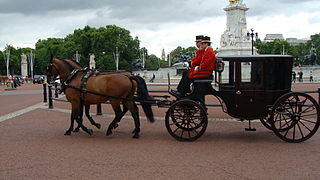 Clarence (carriage) Type of horse-drawn carriage