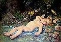 Hortense Richard - Love's Awakening (painting on porcelain).jpg