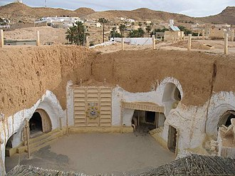 Tatooine - Hotel Sidi Driss, used for the Lars homestead scenes