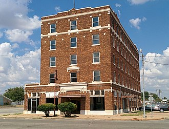 National Register of Historic Places listings in Greer County, Oklahoma - Image: Hotel Franklin