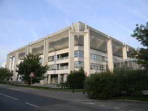 Meyzieu - The town hall in Meyzieu