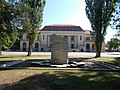 House of Culture and memorial well, Otthon Square, 2017 Dorog.jpg