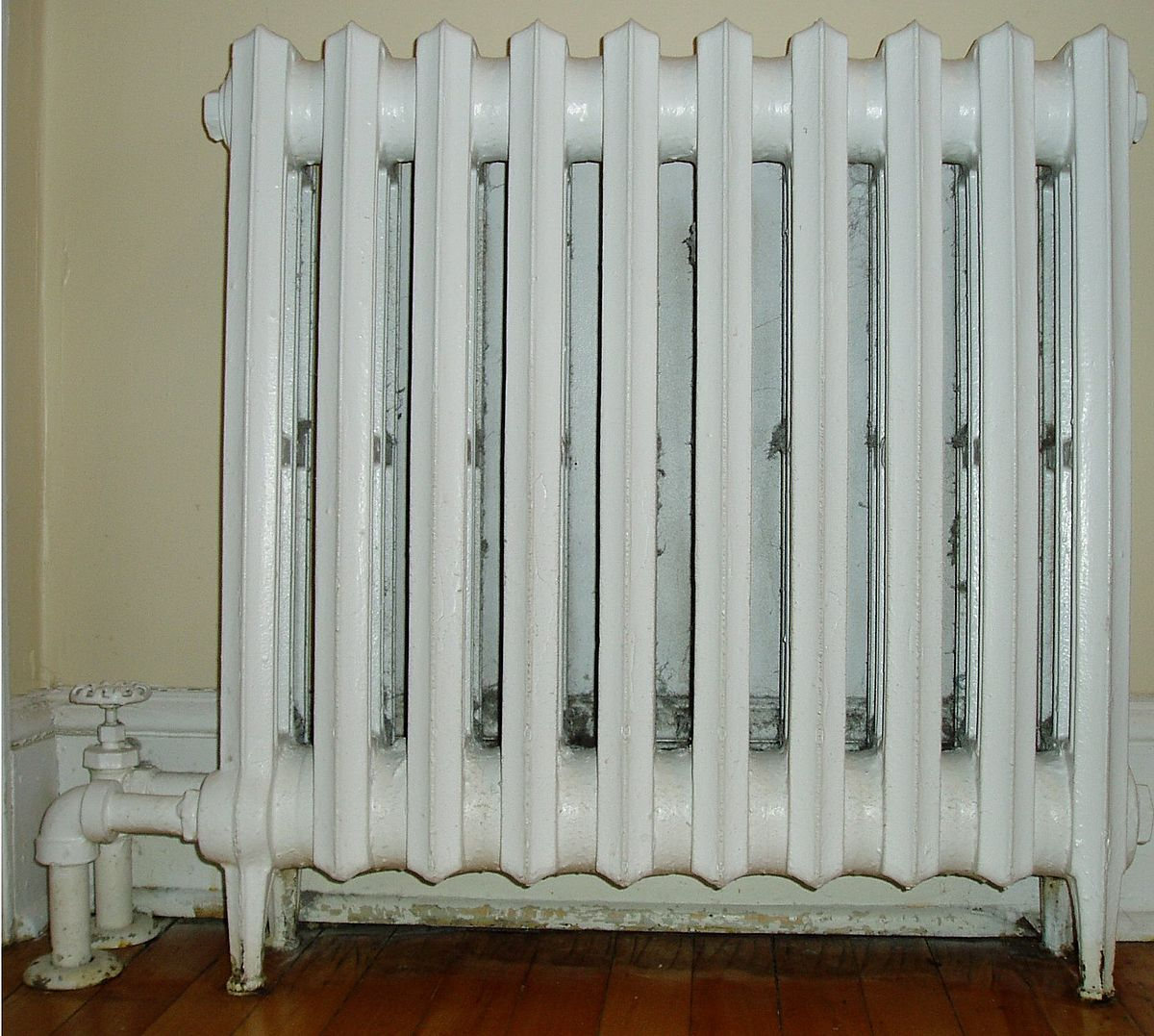 Radiator heating wikipedia for Types of home heating