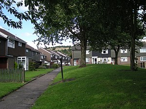 English: Housing Estate