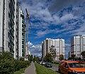 Hrušaŭka (Minsk) — Papanina street p1.jpg