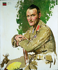 Portrait de Hugh Elles par William Orpen, 1917