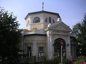 Szerencs - Old bath house in Szerencs