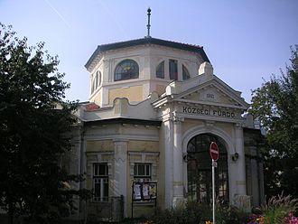 Szerencs - Old bath house in Szerencs