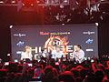 Hunger Games Mall Tour - Jennifer Lawrence, Josh Hutcherson, Liam Hemsworth (6805306190).jpg