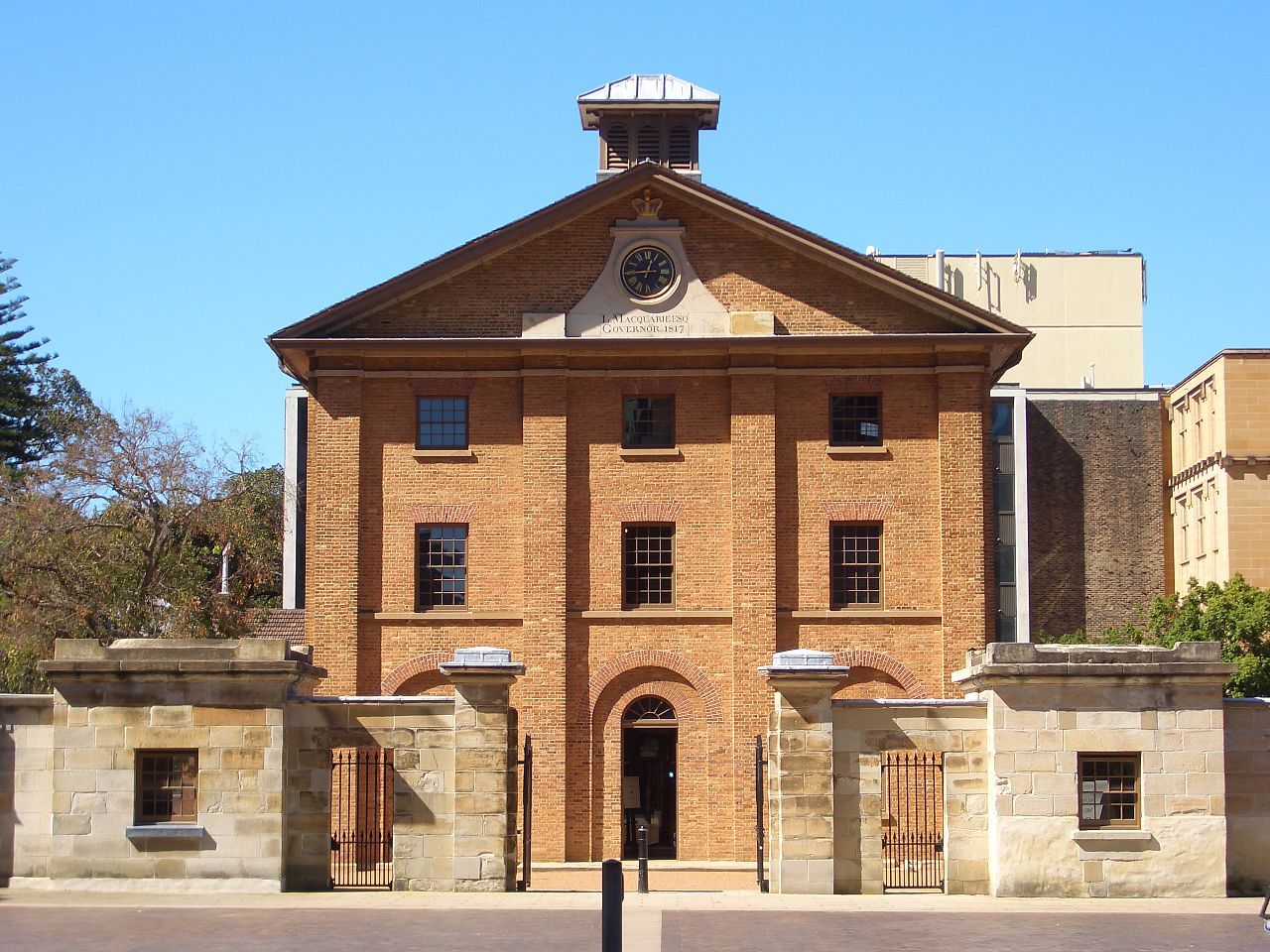 HydePark Barracks Historical sites in Sydney