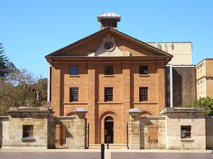 Macquarie Street, Sydney - Hyde Park Barracks (completed 1819)