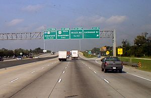 Interstate 69 - Upcoming connection from I-610 to I-69 in Houston