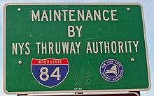 Map Of I 84 New York.Interstate 84 In New York Wikipedia