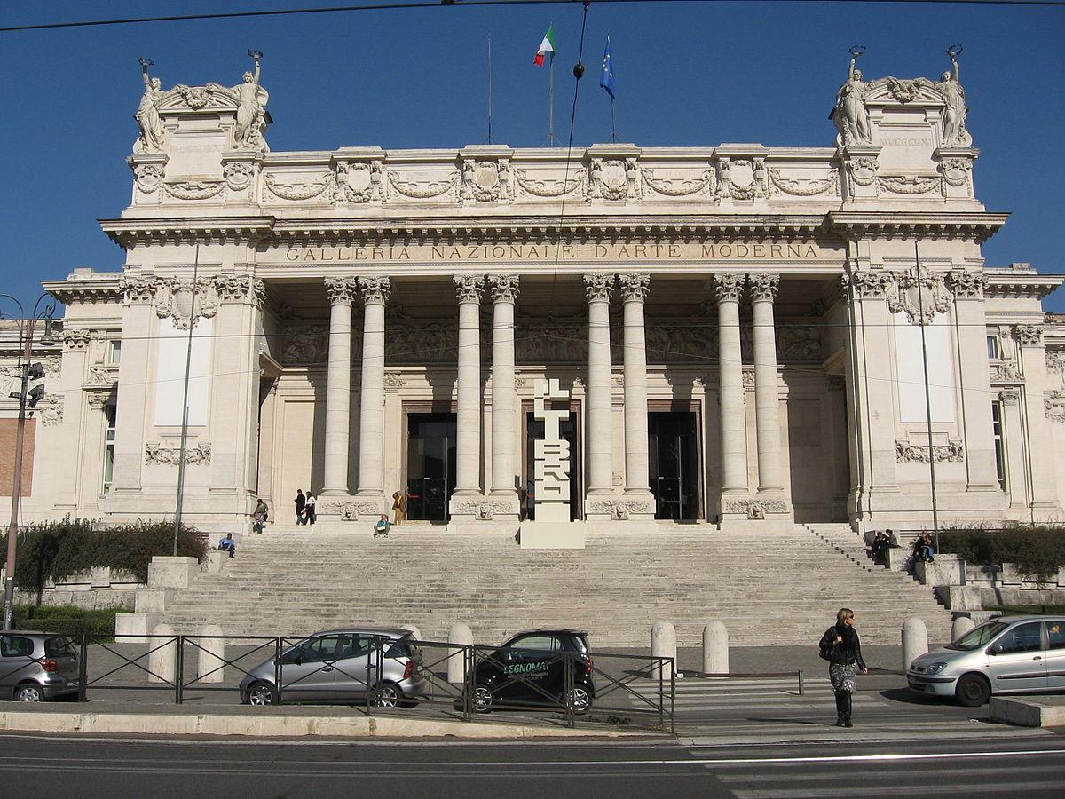Galleria nazionale d'arte moderna e contemporanea - Wikipedia