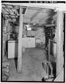 INTERIOR, BASEMENT, SUPPORT POSTS - A. B. Jackson House, State Trunk Highway 50, Bristol, Kenosha County, WI HABS WIS,30-BRIS,1-13.tif