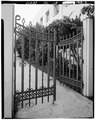 IRON GATE - The Bishop's School, 7607 La Jolla Boulevard, La Jolla, San Diego County, CA HABS CAL,37-LAJOL,2-6.tif