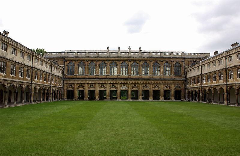 Biblioteca em Cambridge, Reino Unido