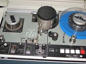IVC videotape format - Image: IVC 825A 1 inch VTR