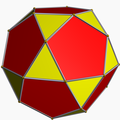 Icosidodecahedron color