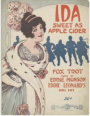 """Ida Sweet as Apple Cider"" sheet mus..."