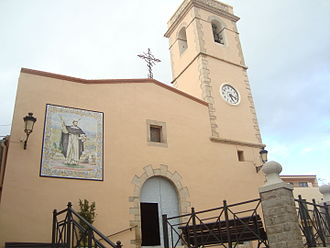 Costur - Iglesia parroquial de San Pedro Mártir de Costur (Castellón)