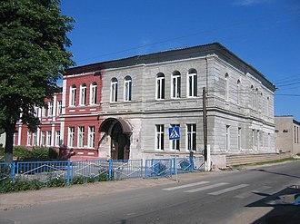 Chervyen - Image: Ihumien, škoła (22.07.2007)