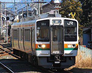 213 series - JR Central 213-5000 series