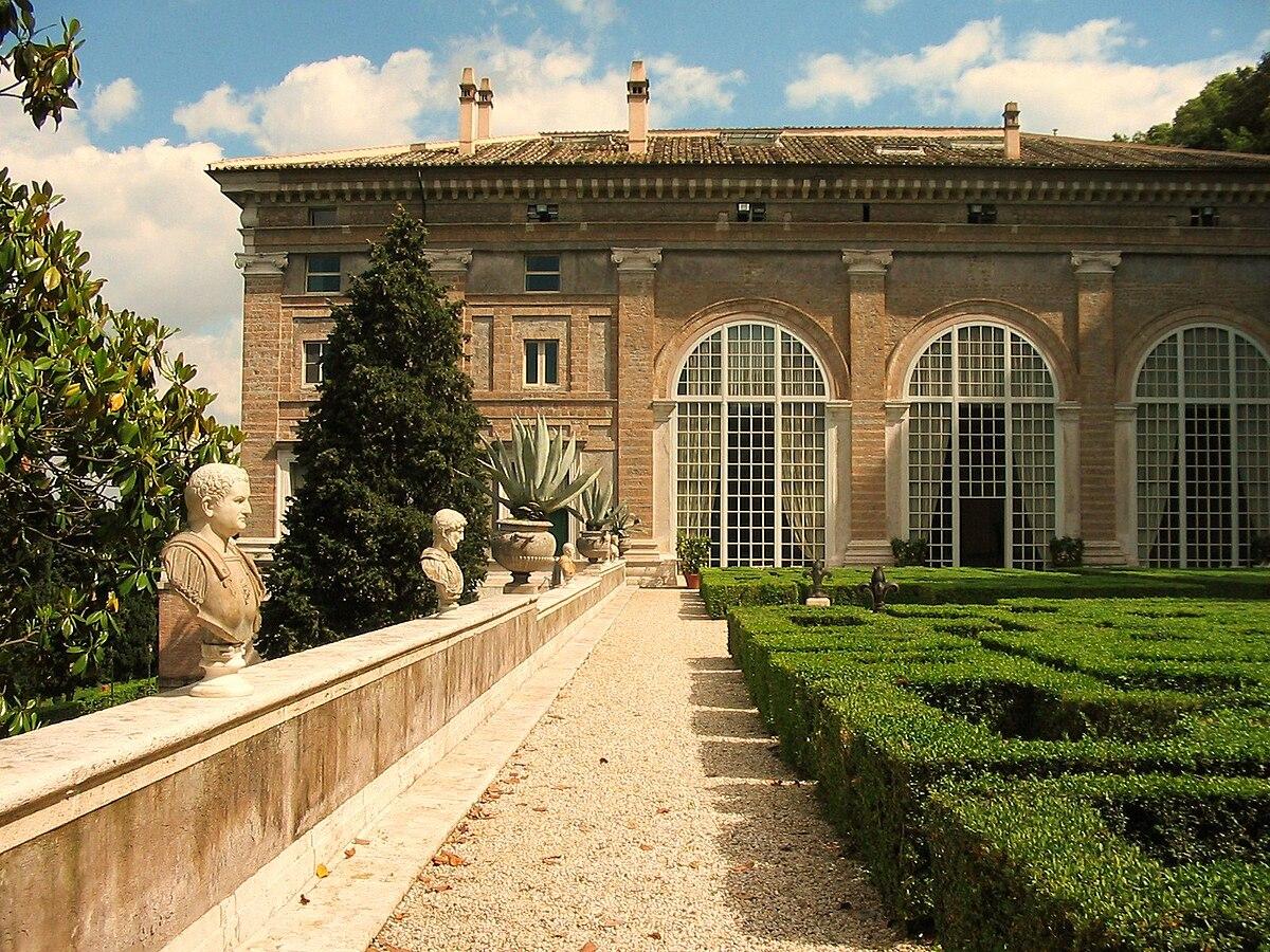 Villa madama wikipedia - Il giardino di ausonia ...