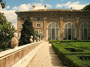 Villa Madama - Garden with Raphael's loggia