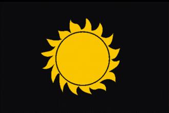 Rajputana Agency - Flag of Rajput
