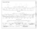 Inboard Profile, Outboard Profile - General John Pope, Suisun Bay Reserve Fleet, Benicia, Solano County, CA HAER CA-343 (sheet 2 of 8).png