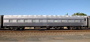 The Overland - 1967 Steel Sleeping Car Yankai (JTB 2) in the 1999–2007 livery