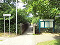 Information boards, Runcorn East railway station - DSC06768.JPG