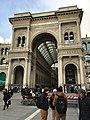 Ingresso della galleria Vittorio Emanuele II.jpg