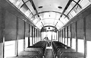 San Diego Class 1 Streetcars - Inside a San Diego Class 1 Streetcar.